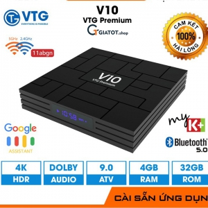 Android TV Box V10 Premium RK3318 RAM 4GB ANDROID TV 9.0 MODEN 2021